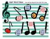 Sight Word Music Videos