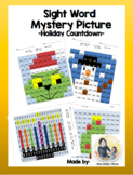 Sight Word Mystery Picture- Holiday Countdown!