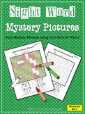 Sight Word Mystery Pictures - December Set 2