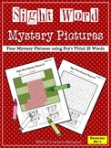 Sight Word Mystery Pictures - December Set 4