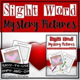 Sight Word Mystery Pictures - February Set 1
