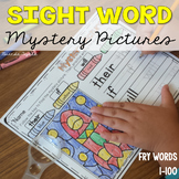 Sight Word Mystery Pictures: Fry Words 1-100