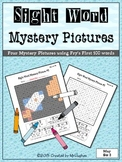 Sight Word Mystery Pictures - May Set 2