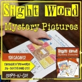 Sight Word Mystery Pictures   November   Thanksgiving Mystery Pictures   Set 2