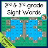 Sight Word Mystery Pictures Rainforest 2nd 3rd grade