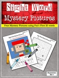 Sight Word Mystery Pictures - September Set 1