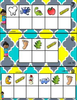 Sight Word Mystery Set 7 - What's That Sight Word?