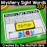 Sight Word Mystery Words