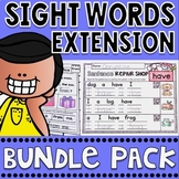 Sight Words Fluency Extension Series Bundle