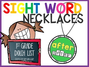 Sight Word Necklaces *1st Grade*