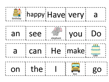 Sight Word Books, Sentence Scramble, Coloring, and more pack!