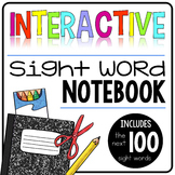 Interactive Sight Word Notebook {100 words)