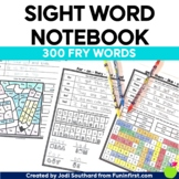 Sight Word Notebook (Fry Word List) - Distance Learning