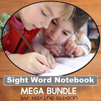 Sight Word Notebook Mega Bundle