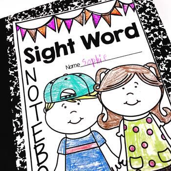 Sight Word Notebook {Or Mini-Books}