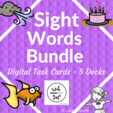 Sight Word Nouns Boom Cards - Distance Learning