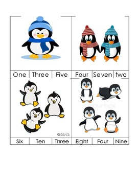 Sight Word - Number One - Ten