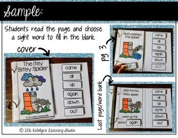 The Itsy Bitsy Spider Interactive Book