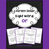 Sight Word Fluency Reader OR
