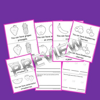 Sight Word Fluency Reader OR