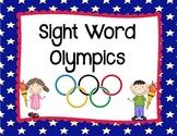 Sight Word Olympics