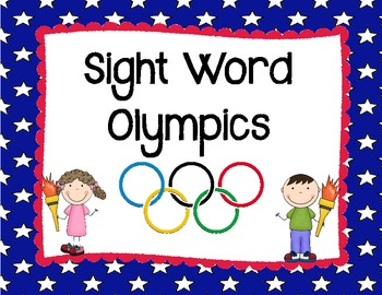 Sight Word Olympics