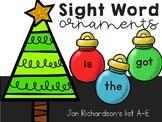 Sight Word Ornaments