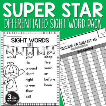 Sight Word Pack {Grades 2-3 Dolch Words}