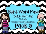 Sight Word Pack Dolch Words {1st Grade}