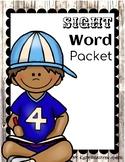 Sight Word Pack {Editable}