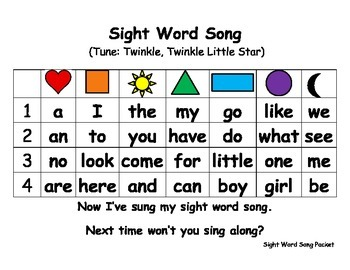 Sight Word Packet