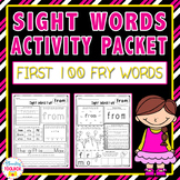 Sight Words Activities (First 100 Fry Words)