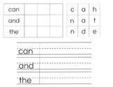 Sight Word Packet-Kindergarten