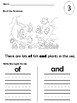 Sight Word Packet (the, of, and, a)