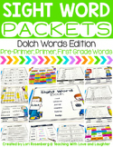 Sight Word Packets {Pre-Primer, Primer, and First Grade Sight Words}
