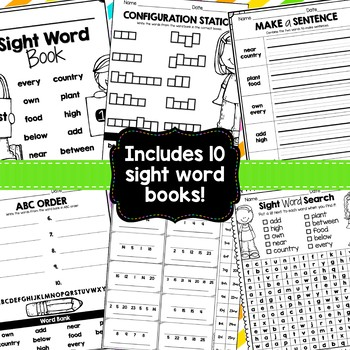 Sight Word Packets {Third Hundred Fry Words}