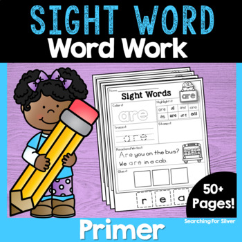 Primer Sight Word No-Prep