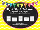 Sight Word Palooza! Sight Word Pack Match SF Reading Stree