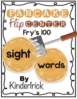 Sight Word Pancake Flip {Fry's 100 Words}