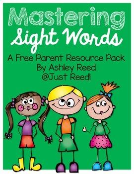 Sight Word Parent Packet {FREEBIE}