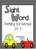 Sight Word Parking Lot Games {Set 2}