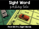 Sight Word Parking Lots - Frys First 100 Words