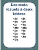 Sight Word Partner Search Cards FRENCH