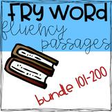 Fry Word Passage (101-200 BUNDLE)