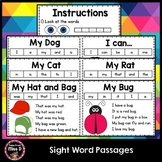 Sight Word Passages   Distance Learning
