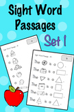 Sight Word Fluency Passages - Set 1