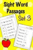 Sight Word Fluency Passages - Set 3