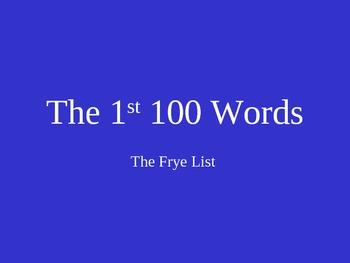 Sight Word Phrase Practice #1 (Frye List) PowerPoint