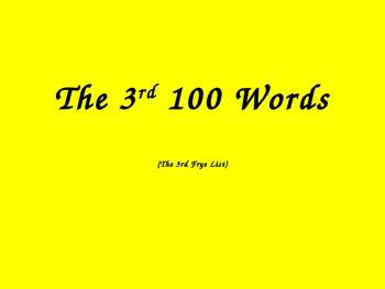 Sight Word Phrase Practice #3 (Frye List) PowerPoint