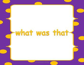 Sight Word Phrases Dolch Primer PowerPoint